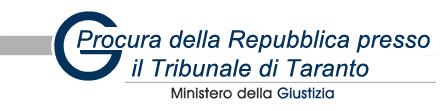 Procura della Repubblica di Taranto: Richiesta di archiviazione
